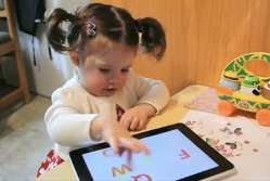Child with Ipad Reliant